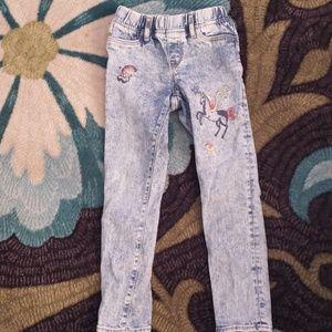 Girls Jean leggings